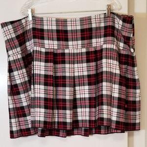 NWT Torrid Tripp NYC Plaid Mini Skirt RARE